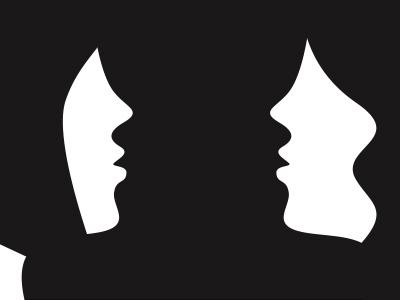 mirror faces 1 shape girl woman flat face