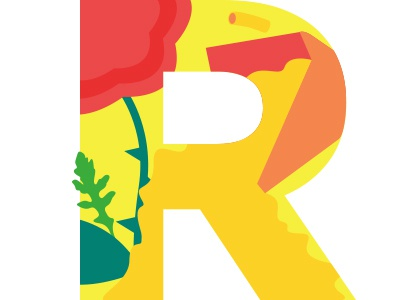 R flat alphabet book children illustrated lab alpha