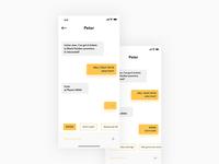 Direct Messaging — #dailyui 013