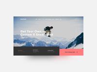 Landing Page — #dailyui 003