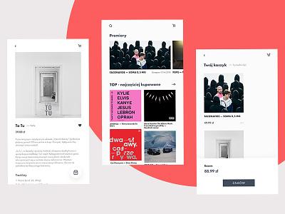 Music Shop — app mobile ui music shop music shop app mobile ui clean