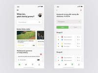 Lokalne boiska oraz turnieje — app