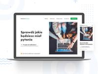 Kalkulator Maturalny Concept — website + mobile