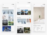 Unsplash ― Concept App