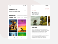 Weekly Design #1 — Cinema App