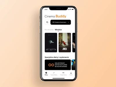 Cinema Buddy - Your Tickets & Cards