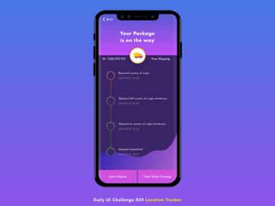 DailyUIChallenge020 minimal interface ux challenge dailyui iphone x location tracker sketch