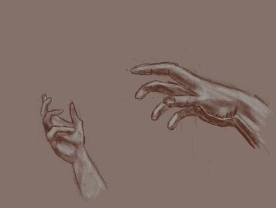 Hand Pose procreate illustration digital illustration hand digital art digitalart