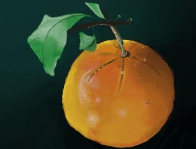 Clementine digital art