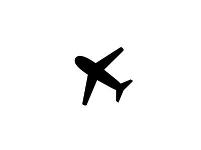 Airplane Icon travel transportation map icon plane airplane