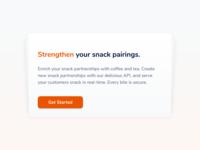 Will design for snacks