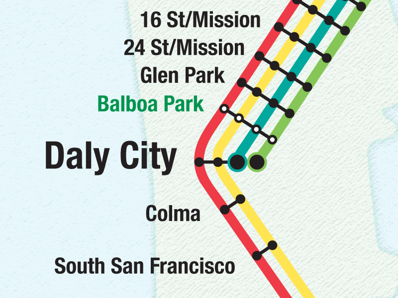 Open Source Bart Map By Trucy Phan Dribbble Dribbble