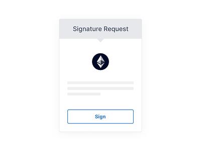 MetaMask Signature Request Illustration ethereum illustration blockchain metamask web3