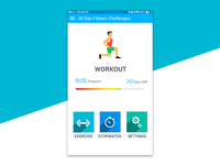 Fitness Challenge App - Workout