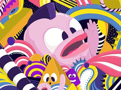 Cabezon dibujo photoshop digital digital 2d colors illustration art illustration