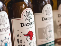 Dargett Beer Label