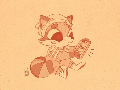 Tanooki // Raccoon