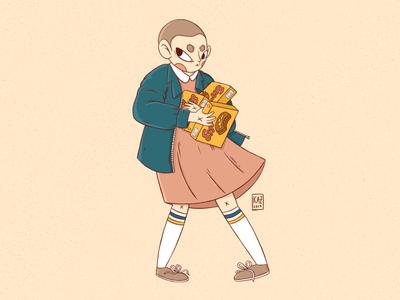 Eleven // Stranger Things Fan Art