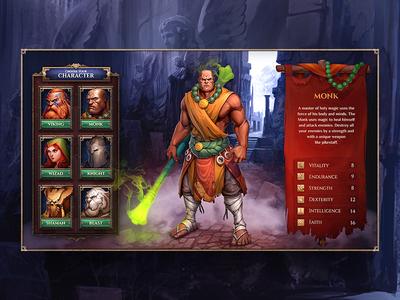 Warrior's Revenge UI