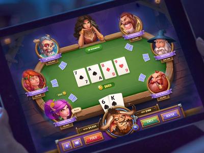 Poker Game Concept
