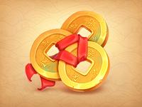 Coins Slot Symbol