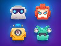 Broofix - Robot Invaders