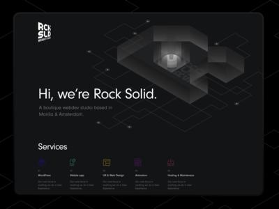 Rocksolid Landing Page