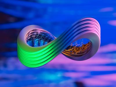 Infinity blender render art motion
