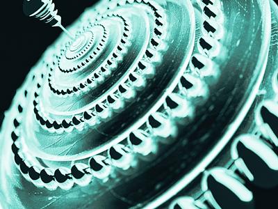 Ice whirligig🧊 blender ice render art whirligig