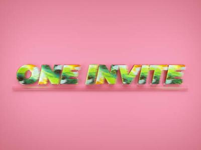 One invite🏀