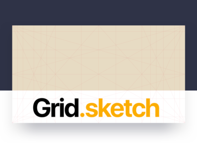 Golden Ratio Grid for Sketch sketch template layout grid design graphic ratio golden free