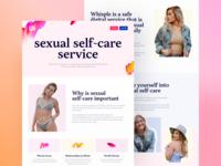 Whisple. Sex-tech project. V2