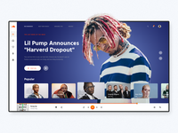 Soundcloud. UI redesign concept