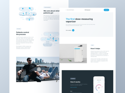 RYAH. Corporate website product page