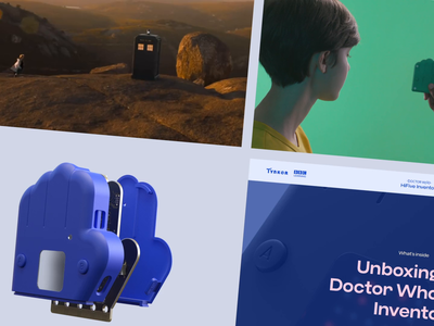 HiFive Inventor typography branding logo ui entertainment motion interactive web animation design