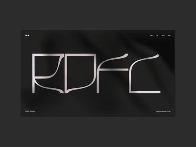 ROFL Folio interface web ui animation portfolio website ux illustration interactive motion design