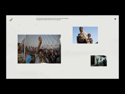 Defund Tigray Genocide Site illustration website branding interactive interface animation ui motion web design
