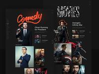 In-flight Entertainment Movie Categories