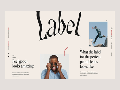 Check The Label motion website illustration interactive interface ux web animation design ui