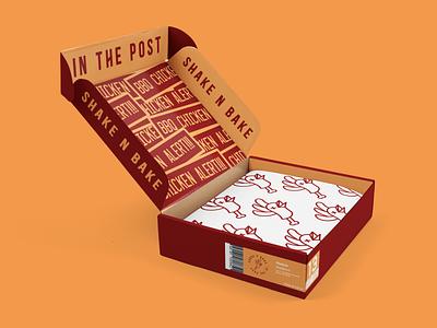BBQ Chicken Alert-Shoe Box Packaging shoe packaging packaging basketball