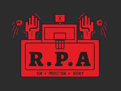 R.P.A sticker design