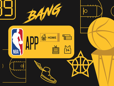 NBA APP Widget: Weekly Warmup No.48 app design app widget weekly warm-up