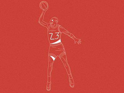 NBA 75th Anniversary-Cover Illustrations nba magazine cover illustration basketball line art digital art