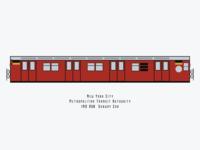 R30 subway car