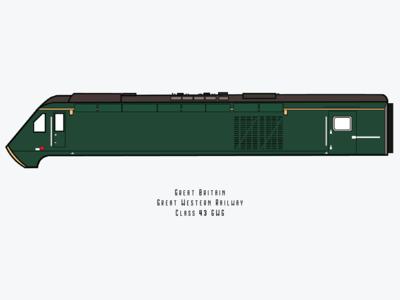 Class 43 GWG Locomotive