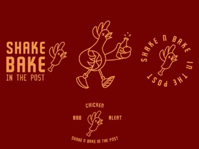 BBQ Chicken branding & identity