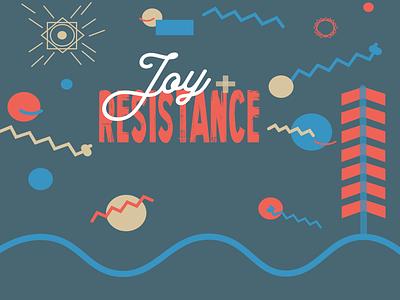 Joy + Resistance Proposal identity brand direction digital art