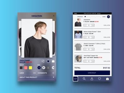 Gap e-Commerce iOS Redesign
