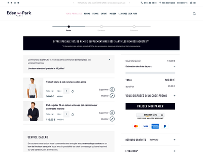 Eden Park Website eden park website agence dnd wear magento responsive sketch ecommerce design home mobile ui