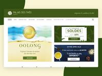 Palais des Thés Website